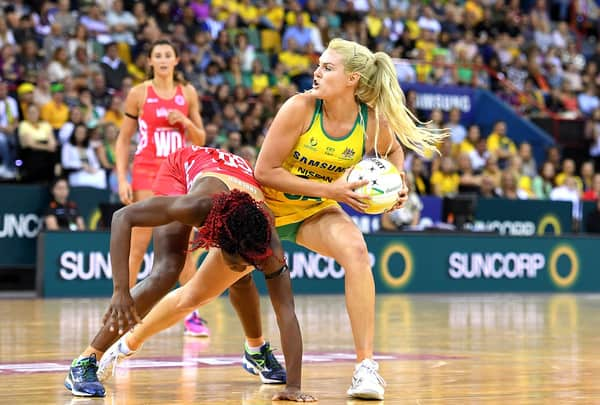Netballer Changing Direction