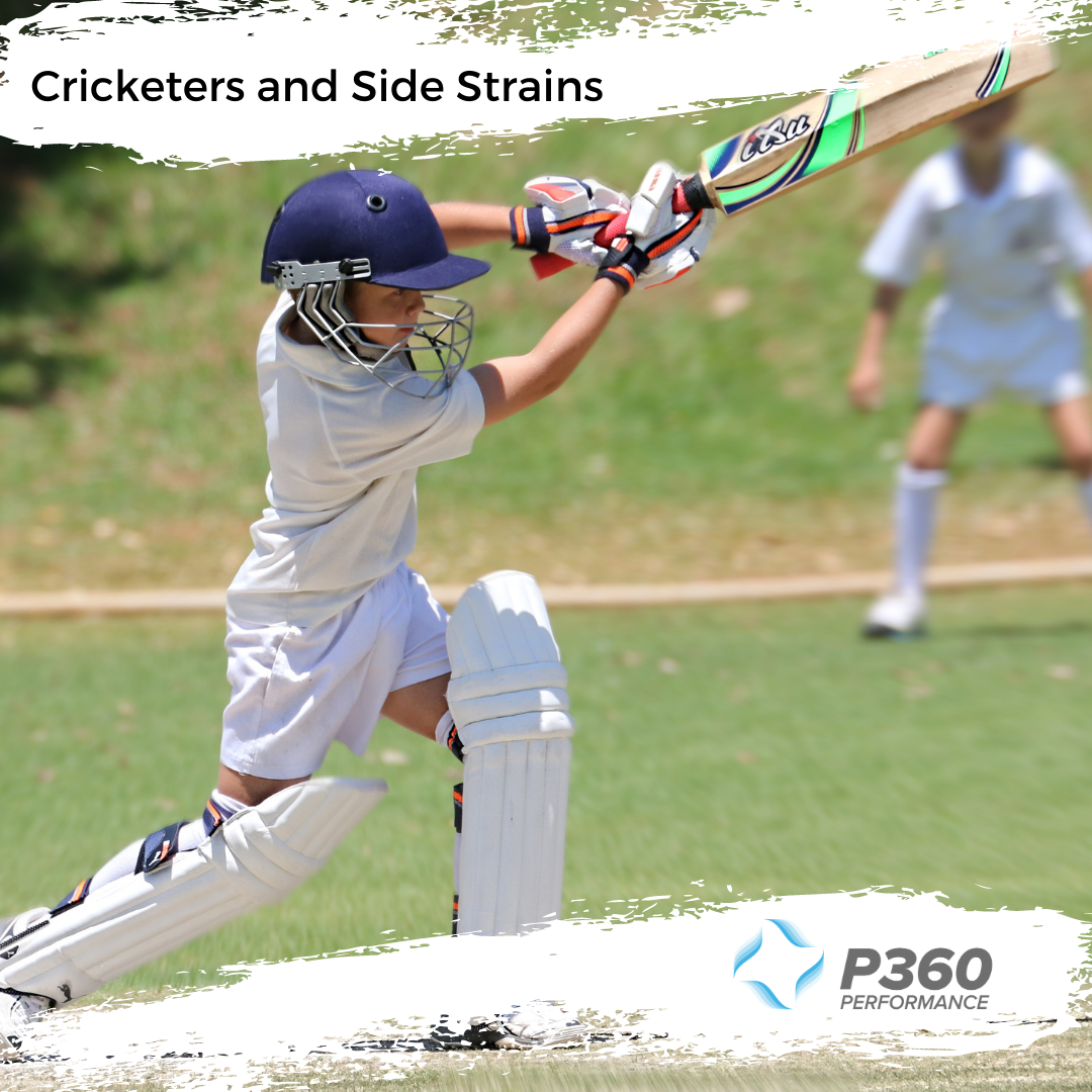 Cricketers and Side Strains