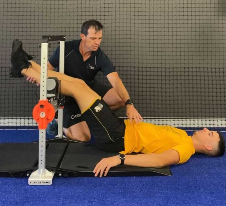 Vald force frame assists in providing strength assessments for cricketers